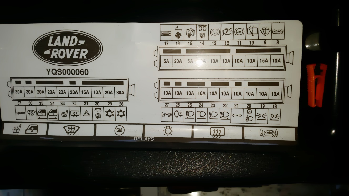 2010 land rover lr2 fuse box diagram   36 wiring diagram