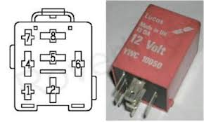 RELAY YWC10050 Pin diagram